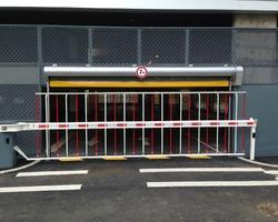 A F I D F - Marly-la-Ville - Nos produits - Parking-Portail-Borne - Porte souple parking
