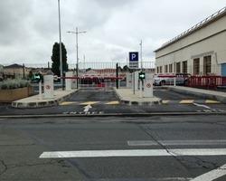 A F I D F - Marly-la-Ville - Nos produits - Parking-Portail-Borne - Barrière automatique