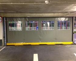 A F I D F - Marly-la-Ville - Nos produits - Parking-Portail-Borne - Porte souple rapide parking